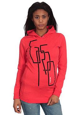 G-STAR Womens Dewey Hooded Sweat lobster