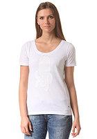 G-STAR Womens Drop 3 RT S/S T-Shirt white