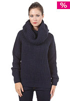 G-STAR Womens Erlin Coll Knit Paz Knit servant blue