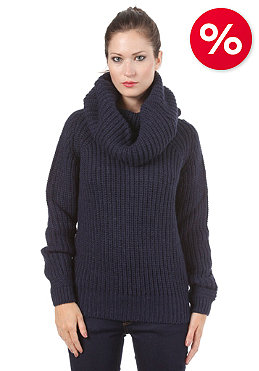 G-STAR Womens Erlin Coll Knit Paz Knit servant servant blue