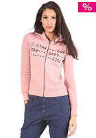 G-STAR Womens Eva Hooded Zip Sweat tea rose