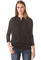 G-STAR Womens Glynn Bomber Sweat kobe mesh - black