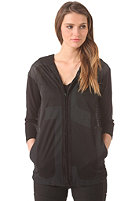 G-STAR Womens Glynn Hooded Vest kobe mesh - black