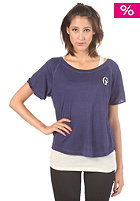 G-STAR Womens Indigo Rich Double Layer T-Shirt twilight