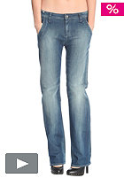 G-STAR Womens Lyric Loose Straight Comfort Ponte denim Pant track wash