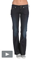 G-STAR Womens Midge Bootleg Pant comfort night vintage dk comfort dark denim aged