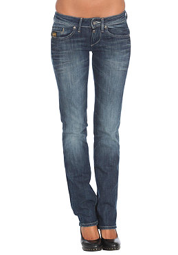 G-STAR Womens Midge Straight Pant comfort station denim track wash