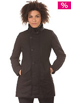 Womens Minor Relax Trench Coat solar hd - black