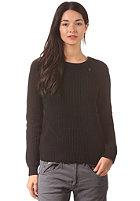 G-STAR Womens Neatch R L/S Knit Sweat prem cotton knit - black