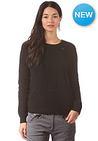 G-STAR Womens Neatch R L/S Knit Sweat prem cotton knit - black