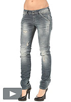 G-STAR Womens New Elva Slim Tapered Pant comfort force denim vintage destroy