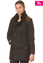Womens New Minor Trench Coat black