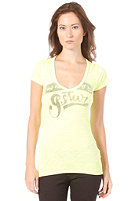 G-STAR Womens Phase V T Cap S/S T-Shirt acid yellow