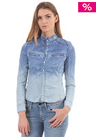 G-STAR Womens S.F. Pearl Slim Shirt dip dye