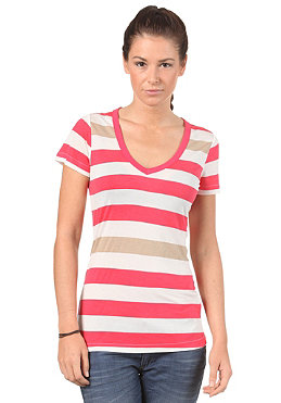 G-STAR Womens Shell V T S/S T-Shirt bright rosus