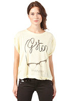 G-STAR Womens Sing R T Cap S/S T-Shirt bleach yellow