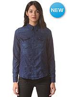 G-STAR Womens Tacoma Straight Shirt floro tencel - dk aged