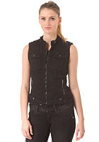 G-STAR Womens Tailor Chopper Vest comfrt trnr bl denim - dk aged destroy