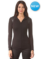 G-STAR Womens Us Slim Festun Vest T Longsleeve ultimate stretch jer - black