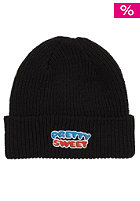 GIRL Pretty Sweet Fold Beanie black