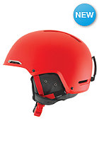 GIRO Battle Helmet mat glowing red
