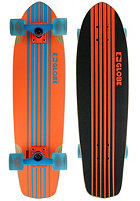 GLOBE Tracer Complete Longboard 31,25 fluoro orange/cyan