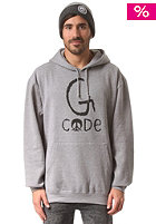 GNARLY CLOTHES G-Code Hooded Sweat grey