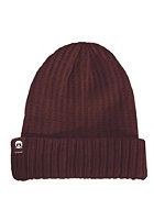 GNARLY CLOTHES Gas Station Beanie maroon