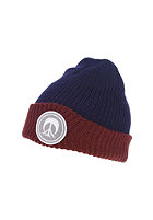 GNARLY CLOTHES Logo Beanie navy/red