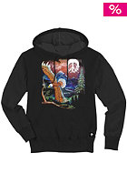 GNARLY CLOTHES Mt. Gnarly Hooded Sweat black