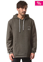 GNARLY CLOTHES Premium Hooded Sweat heather olive
