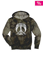 GNARLY CLOTHES Tie Dye Camo Hooded Sweat grey
