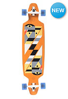 GOLDCOAST Complete Serpentagram Longboard yellow