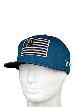 GRENADE Patriot New Era Snapback Cap teal