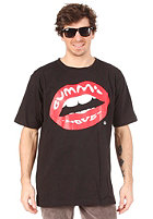 GUMMI LOVE Logo S/S T-Shirt black