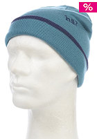 H�? 2 Striped Beanie blue