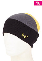 H�? 3 Striped Beanie yellow