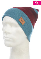 H�? Mixed Striped Beanie blue