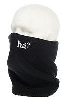 H�? Polar Fleece Small Logo Neckwarmer black