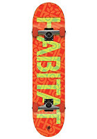 HABITAT Complete Skateboard Stencil Small 7.6 one colour