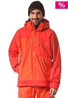 HAGL�FS Verte II Snow Jacket dynamite/danger