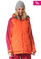 HAGL�FS Womens Chute II Snow Jacket firecracker/volcanic