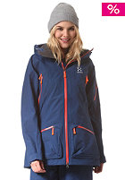 HAGL�FS Womens Chute II Snow Jacket hurricane blue