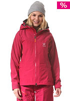 HAGL�FS Womens Couloir IV Snow Jacket volcanic pink