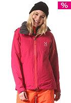 HAGL�FS Womens Utvak II Snow Jacket volcanic pink