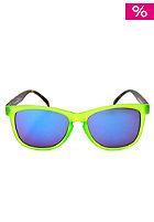 HAPPY HOUR Burnt Blockers Provost Sunglasses green/brown