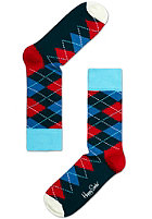 HAPPY SOCKS Argyle Socks blue/red