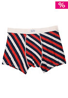 HAPPY SOCKS Polka Stripe Brief Boxershort red/white/navy