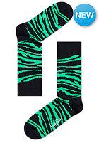 HAPPY SOCKS Socks Animal Zebra black/green
