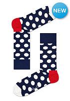 HAPPY SOCKS Socks Big Dot blue/white
